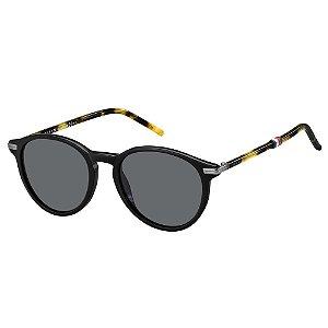 Óculos de Sol Tommy Hilfiger TH 1673/S/50 Preto/Havana