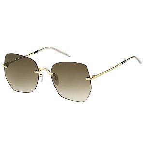 Óculos de Sol Tommy Hilfiger TH 1667/S/57 Marrom/Dourado
