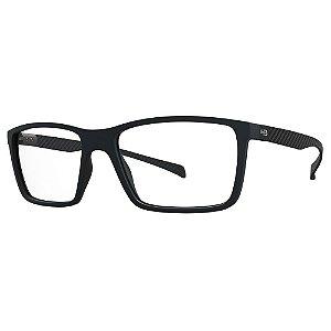 Óculos de Grau HB Polytech 93136/55 Preto Fosco/Carbono