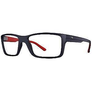 Óculos de Grau HB Polytech 93024/56 Azul/Vermelho