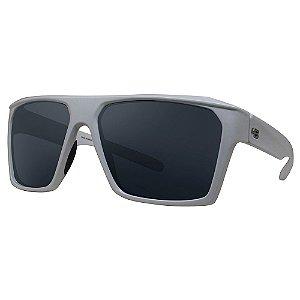 Óculos de Sol HB Split Carvin/60 Branco - Lente Prata