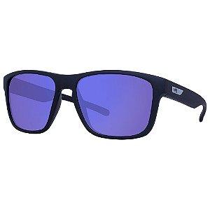 Óculos de Sol HB H-Bomb/55 Preto - Lente Azul Espelhado