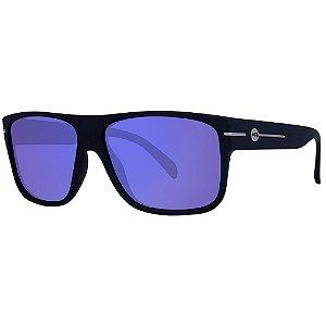 Óculos de Sol HB Would/58 Preto - Lente Azul Espelhado