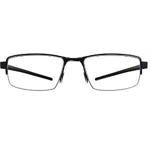 Óculos de Grau HB Mxfusion 93071/53 Preto/Preto Gloss