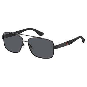 Óculos de Sol Tommy Hilfiger TH 1521/S/59 Preto Fosco