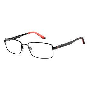Óculos de Grau Carrera Masculino Ca8812 55-Preto