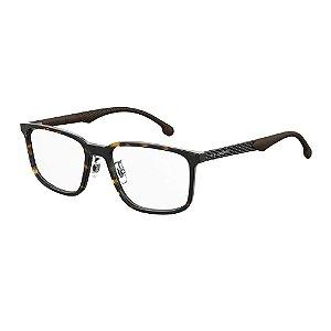 Óculos de Grau Carrera Masculino  8840/G 55-Marrom