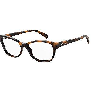 Óculos de Grau Polaroid D370/52 Marrom