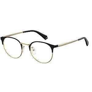 Óculos de Grau Polaroid D367/F/50 Preto/Dourado