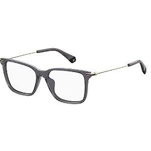 Óculos de Grau Polaroid D365/G/53 Cinza/Dourado