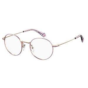 Óculos de Grau Polaroid D361/G/50 Dourado/Lilás