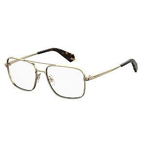 Óculos de Grau Polaroid D359/G/57 Branco/Dourado