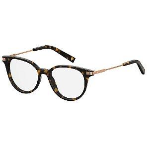 Óculos de Grau Polaroid D352/49 Marrom