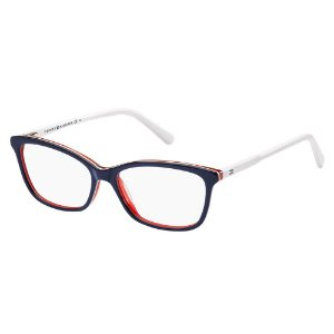 Óculos de Grau Tommy Hilfiger TH 1318/54 Azul