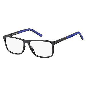 Óculos de Grau Tommy Hilfiger TH 1696/55 Preto/Azul