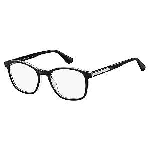 Óculos de Grau Tommy Hilfiger TH 1704/51 Preto