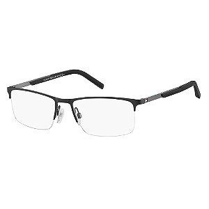 Óculos de Grau Tommy Hilfiger TH 1692/55 Preto/Cinza