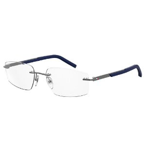 Óculos de Grau Tommy Hilfiger TH 1691/56 Azul