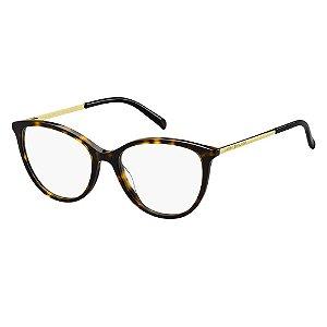 Óculos de Grau Tommy Hilfiger TH 1590/52 Havana Escuro