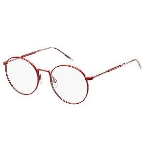 Óculos de Grau Tommy Hilfiger TH 1586/52 Vermelho