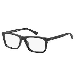Óculos de Grau Tommy Hilfiger TH 1527/54 Preto Fosco