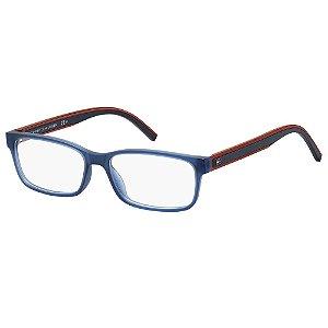Óculos de Grau Tommy Hilfiger TH 1495/54 Azul Escuro