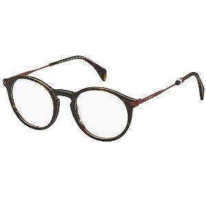 Óculos de Grau Tommy Hilfiger TH 1471 -  50 - Marrom