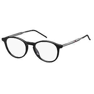 Óculos de Grau Tommy Hilfiger TH 1707 -  48 - Preto