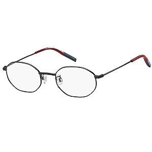 Óculos de Grau Tommy Hilfiger Jeans TJ 0022 -  50 - Preto