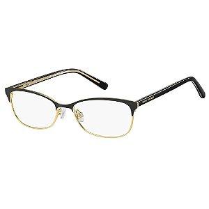 Óculos de Grau Tommy Hilfiger TH 1777 -  52 - Preto