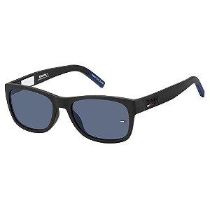 Óculos de Sol Tommy Hilfiger Jeans TJ 0025/S -  54 - Preto