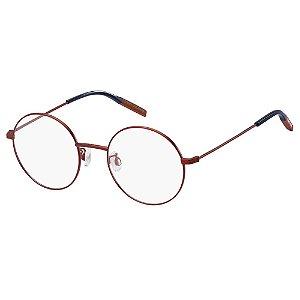 Óculos de Grau Tommy Hilfiger Jeans TJ 0023 -  49 - Vermelho