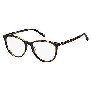 Óculos de Grau Tommy Hilfiger TH 1751 -  52 - Marrom
