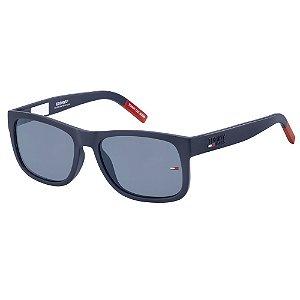 Óculos de Sol Tommy Hilfiger Jeans TJ 0001/S -  56 - Azul