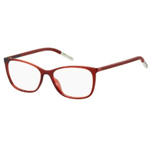Óculos de Grau Tommy Hilfiger Jeans TJ 0020 -  54 - Vermelho