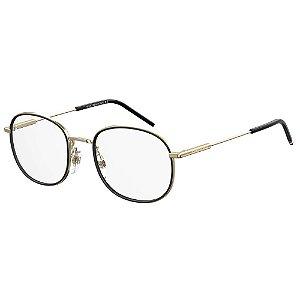 Óculos de Grau Tommy Hilfiger TH 1726 -  50 - Dourado