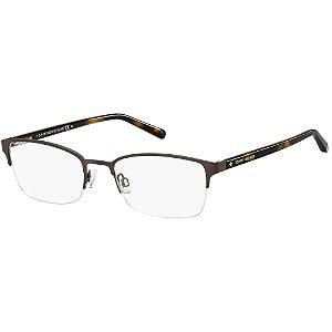 Óculos de Grau Tommy Hilfiger TH 1748 -  52 - Marrom