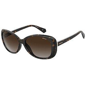 Óculos de Sol Polaroid Pld 4097/S  58 - Marrom - Polarizado