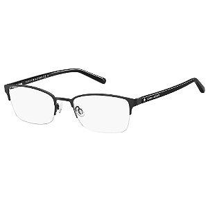 Óculos de Grau Tommy Hilfiger TH 1748 -  52 - Preto