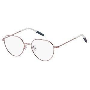 Óculos de Grau Tommy Hilfiger Jeans TJ 0015 -  51 - Rosa