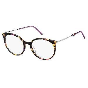 Óculos de Grau Tommy Hilfiger TH 1630 -  51 - Marrom