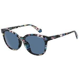 Óculos de Sol Polaroid Pld 4089/F/S  55 - Preto - Polarizado