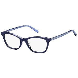 Óculos de Grau Tommy Hilfiger TH 1750 -  52 - Azul