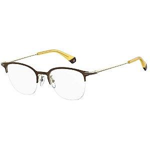 Óculos de Grau Polaroid Pld D364/G -  50 - Marrom