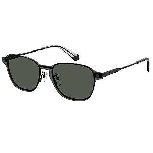 Óculos de Sol Polaroid Pld 6119/G/Cs  53 - Cinza - Clip-on Polarizado
