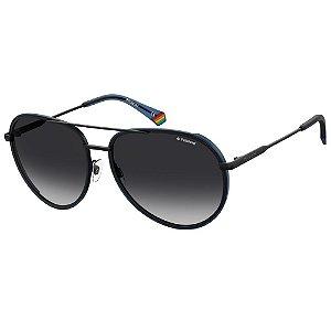 Óculos de Sol Polaroid Pld 6116/G/S  61 - Azul - Polarizado