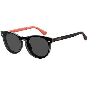 Óculos de Sol Havaianas Eva/Cs -  50 - Preto - Clip-on