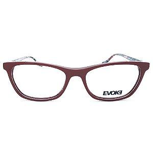 Armação de Óculos Evoke For You DX71 D02 - 53 - Vermelho