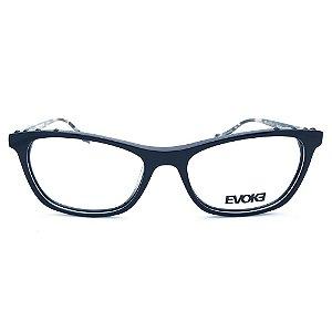 Armação de Óculos Evoke For You DX71 A01 - 53 - Preto