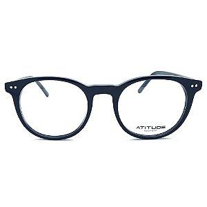 Armação de Óculos Atitude AT7146 A01 - 49 - Preto
